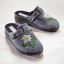 """Pantofle """"Protěž alpská"""""""