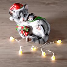 LED mačacia dekorácia