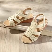 "Sandále ""Birgita"", prírodná"