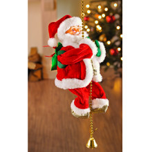 Šplhající Santa Claus