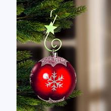 30 svítících háčků na vánoční ozdoby