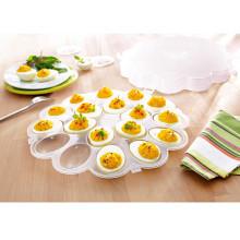 Podnos na vejce s poklopem