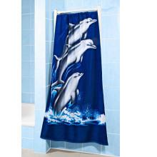Ręcznik kąpielowy Delfiny