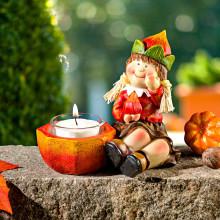 """Svícínek na čajovou svíčku """"Lesní dítko"""""""