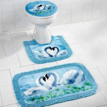 """3dílná koupelnová sada """"Labutě"""""""