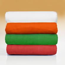 2 napínacie posteľné plachty, zelená