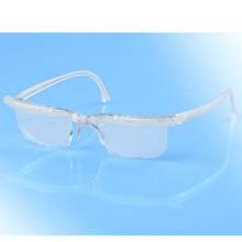 Dioptrické okuliare, transparentná
