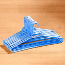 10 protiskluzových ramínek, modrá