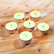 6 čajových svíček s jablečnou vůní