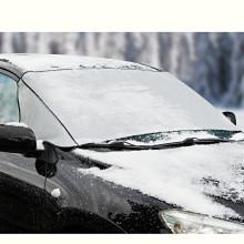 Fólie na sklo auta proti mrazu