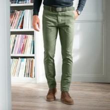 Chino kalhoty v pracovním stylu