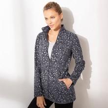 Fleecová bunda s potlačou