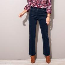 Manšestrové kalhoty s knoflíky