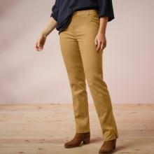 Nohavice, efekt plochého bruška