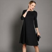 Rozšířené jednobarevné šaty