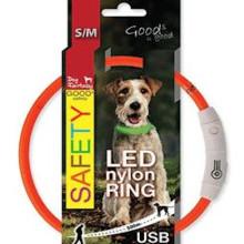 Obroża DOG FANTASY z podświetleniem USB