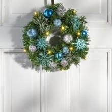 LED vánoční věnec