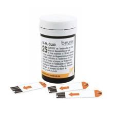 Zestaw pasków testowych 2 x 25 sztuk do glukometrów GL 50