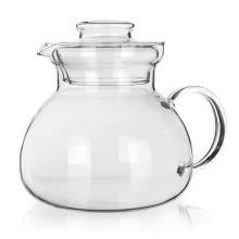 Üveg teáskanna, 1,7 l