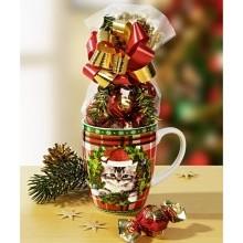 """1 hrnek na kávu """"Vánoční kotě"""""""
