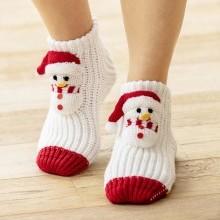 Ponožky so snehuliakmi