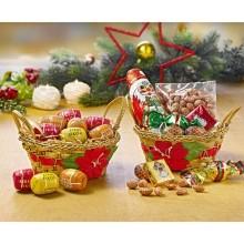 2 vánoční košíčky s pamlsky