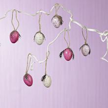 8 dekorativních vajíček