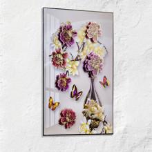 """Obrázek na okno """"Váza s květinami"""""""
