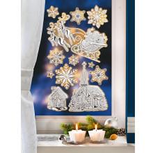 Obraz na okno Lesk a třpyt