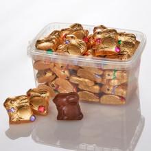 30 čokoládových zajačikov v dóze