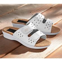"Pantofle ""Sally"", bílá"