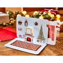 Vánoční dárková karta na peníze