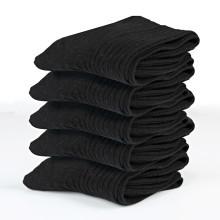 5 párov bavlnených ponožiek