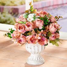 Čaša s ružami.