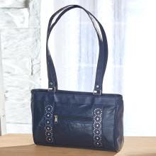 Patchwork kožená kabelka
