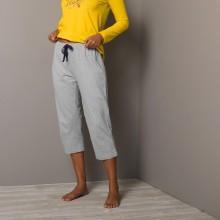 3/4 jednofarebné pyžamové nohavice Estrella