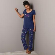 Pyžamové kalhoty s potiskem hvězdiček Estrella