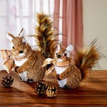 """Dekorácia """"2 veveričky"""""""