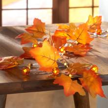 """LED světelný řetěz """"Podzim"""""""