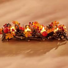 "Svietnik na čajové sviečky ""Jeseň"""