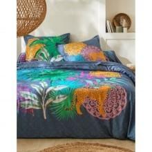 Posteľná bielizeň Tonga s exotickým vzorom, bavlna
