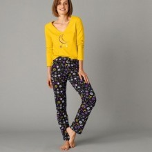Pyžamové kalhoty s potiskem