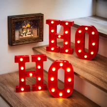 """Sada LED písmen """"H + O"""""""