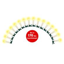 16 LED bezkabelových svíček