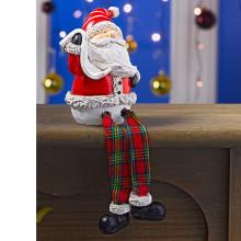 """Dekorace """"Sedící Santa"""""""