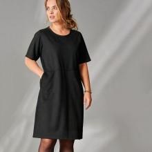 Krátké šaty s krátkými rukávy