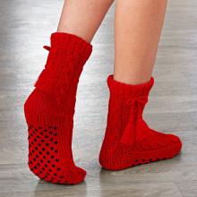 1 pár protiskluzových ponožek