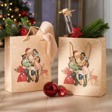 "2 dárkové tašky ""Santa Claus"""