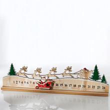"""Adventný kalendár """"Jazda na saniach"""""""
