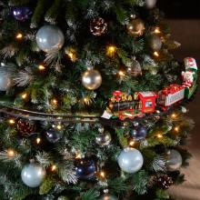 Vianočný vlak Casa Bonita